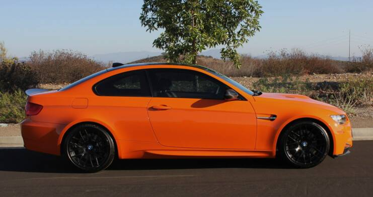 2012 Bmw M3 Coupe Fire Orange Dct