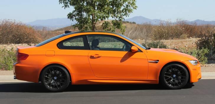 2012 BMW e92 M3 Fire Orange 6 Speed Manual
